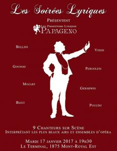 Les Soirées et Les Productions Papageno
