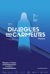 OdM- Dialogues des Carmélites- Affiche