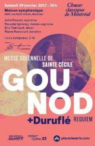 choeur classique de Montréa- Concert français