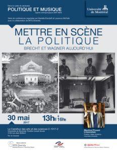 Politique et musique- Affiche (30 mai 2017)